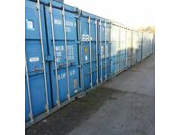 Secure container storage – available immediately – secure site 24/7 access