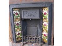 Cast Iron Fire Surround & Grate