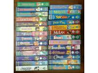 Large collection of Disney videos