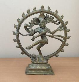 Brass - Shiva, god in Hinduism, the creator and the destroyer of evil.