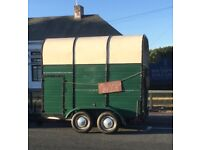 Rice Vintage (horse, camping or other purpose) trailer (EXCELLENT refurbish condition) front door