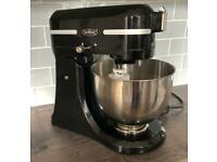 Black Stand Food Mixer with attachments