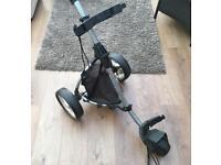 Motocaddy S1 Lite push golf trolley