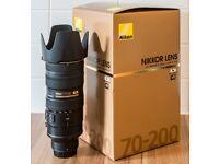 Nikon 70-200mm f/2.8 ED VR II AF-S Lens