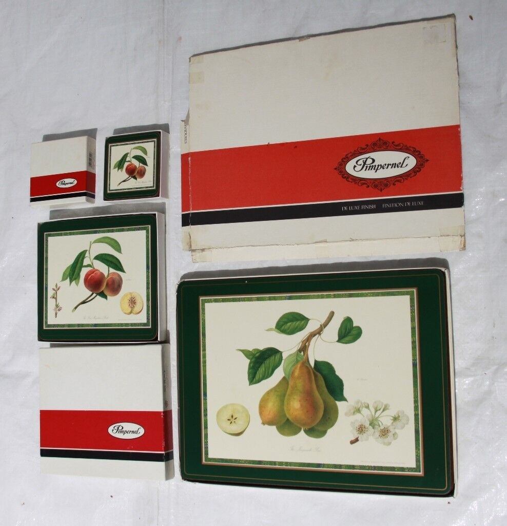 Set of Pimpernel Table Mats | in Lymington, Hampshire | Gumtree