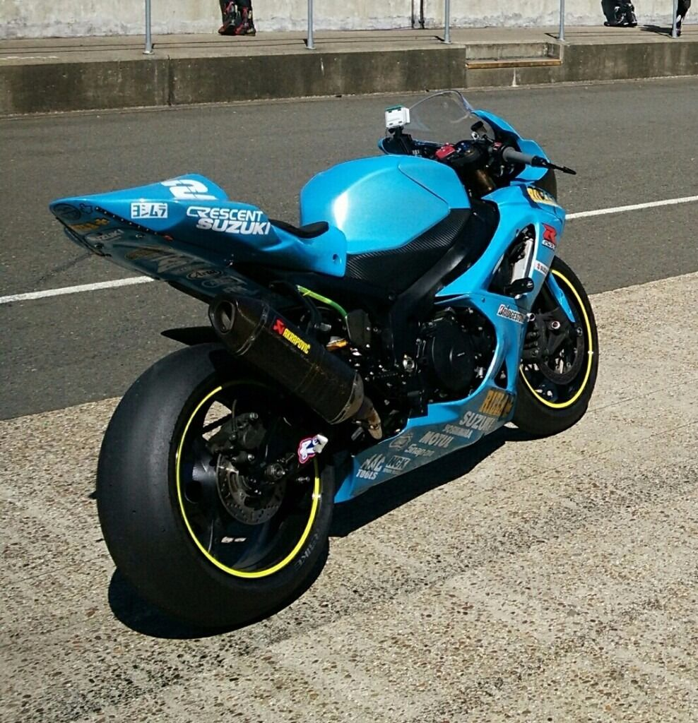 suzuki gsxr 1000 k7 rizla track road bike in coventry. Black Bedroom Furniture Sets. Home Design Ideas
