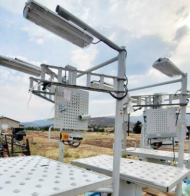 Electric Tilt Roller Table Rotating Draft Table Motorized Easel Painting Framing