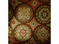 Pattern rug various colour