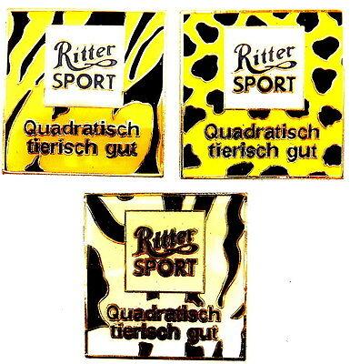 Sport Süßigkeiten (SÜSSIGKEITEN Pin / Pins - RITTER SPORT / 3 PINS!!!!!!!!!! [3920])