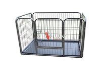 Dog whelping cage