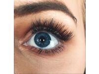 Eyelash extensions **summer discount**