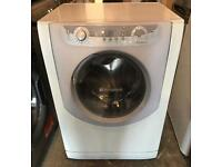 7KG HOTPOINT Aqualtis Free Standing Washing Machine Good Condition & Fully Working Order