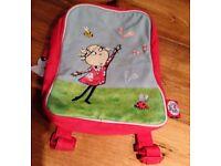 Charlie and Lola Mini school bag