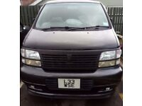 "MPV 7 SEATER NISSAN EL GRAND "" R TYPE "" 1 YEAR MOT GREAT CONDITION"