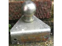 Towing Hitch / Ball Hitch for Trailer / Launching trolley for a Boat Dinghy Tender