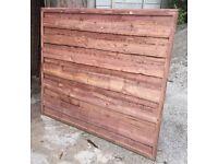 Heavy Duty Waney Lap Fence Panels