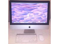 "Apple iMac 21.5"" Core i3, 12GB RAM, 500GB HD *CS6, Final Cut, Logic Pro*"