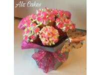 Birthday, Celebration Cupcake Bouquets only £22 each - FREE DELIVERY 5 MILE RADIUS