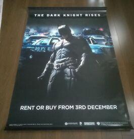 batman ' the dark knight rises ' large ( 180 cm x 120 cm ) film poster