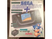 Sega Game Gear BOXED, AMAZING CONDITION - COMPLETE WITH ALL ORIGINAL ACCESSORIES