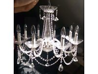 8 Arm Crystal Chandelier