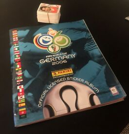Official Panini World Cup Germany 2006 Complete Album + Loose Stickers