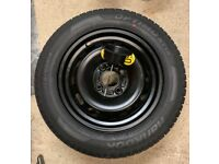 Ford Fiesta Spare Wheel and Hankook Tyre Size- 175/65 SR14