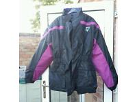 New Frank Thomas Bike Aqua waterproof Jacket XL Motorcycle Motorbike