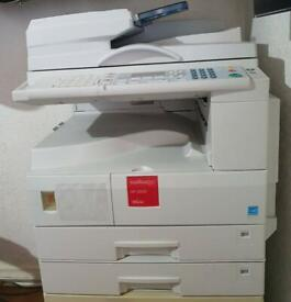 Nashuatec (ricoh) mp2000 mono laser copier-scanner a3 and a4 size printing.