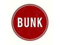 BUNK: Part time bartender & full time bar supervisor positions available.