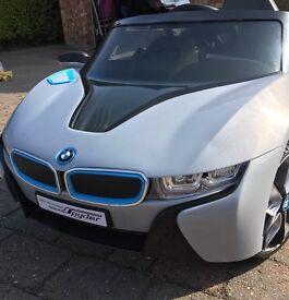 BMW i8 Concept Spyder 6v Car for Kids