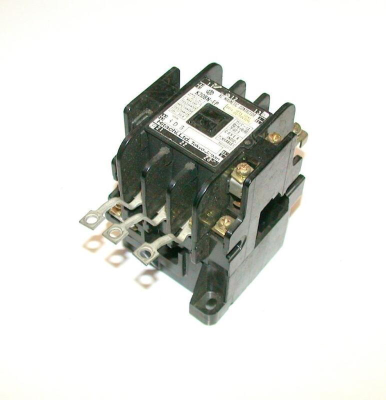 HITACHI   K20BN-EP  AC MAGNETIC  3-POLE CONTACTOR 100-110 VAC 35 AMP