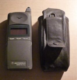 Vintage Motorola Micro T.A.C Duo mobile phone