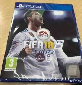 Fifa 18 PS4 brand new unopened