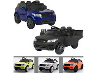 Compact HSE Range Rover Style Electric 12v Child's Ride on Jeep