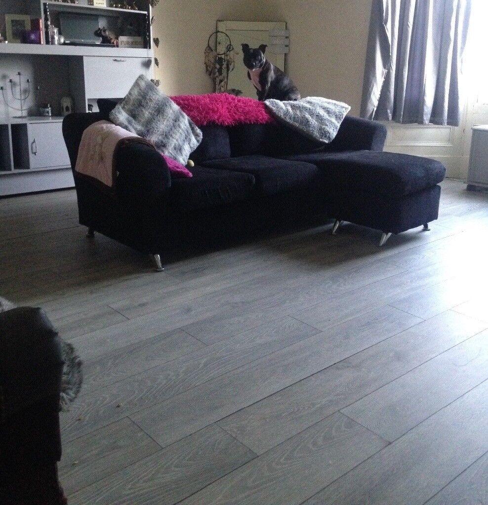 Gorgeous Wooden Grey Laminate Flooring