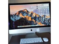Apple iMac 27 with 5k retina display in a very mint condition. £1200 or ONO