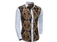 Men Shirt Versace style