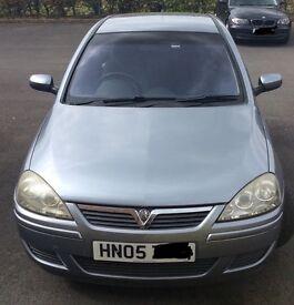 1.2 petrol, 05 Vauxhall Corsa Design twinsport 16v