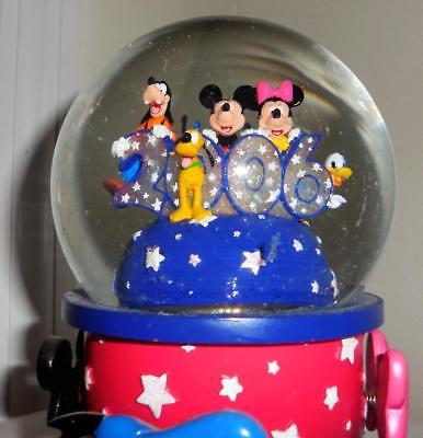 Disney New Years 2006 Fab Five snowglobe Stitch
