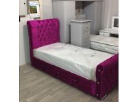 pink single bed festive sale