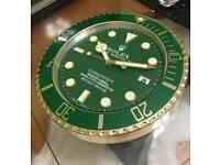 ♛ $ ♛ ROLEX WALL CLOCK EXCLUSIVE ♛ $ ♛
