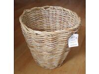 Large Round Rattan Storage Basket, Shop Display or Home Decor