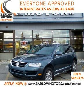 2007 Volkswagen Touareg *EVERYONE APPROVED* APPLY NOW DRIVE NOW.