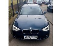 BMW 1 SERIES 1.6 116D EFFICIENTDYNAMICS 5d 114 BHP Apply for finance Online today! (blue) 2014
