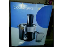 BRAND NEW COOKSWORK JUICEMAKER FOR SALE