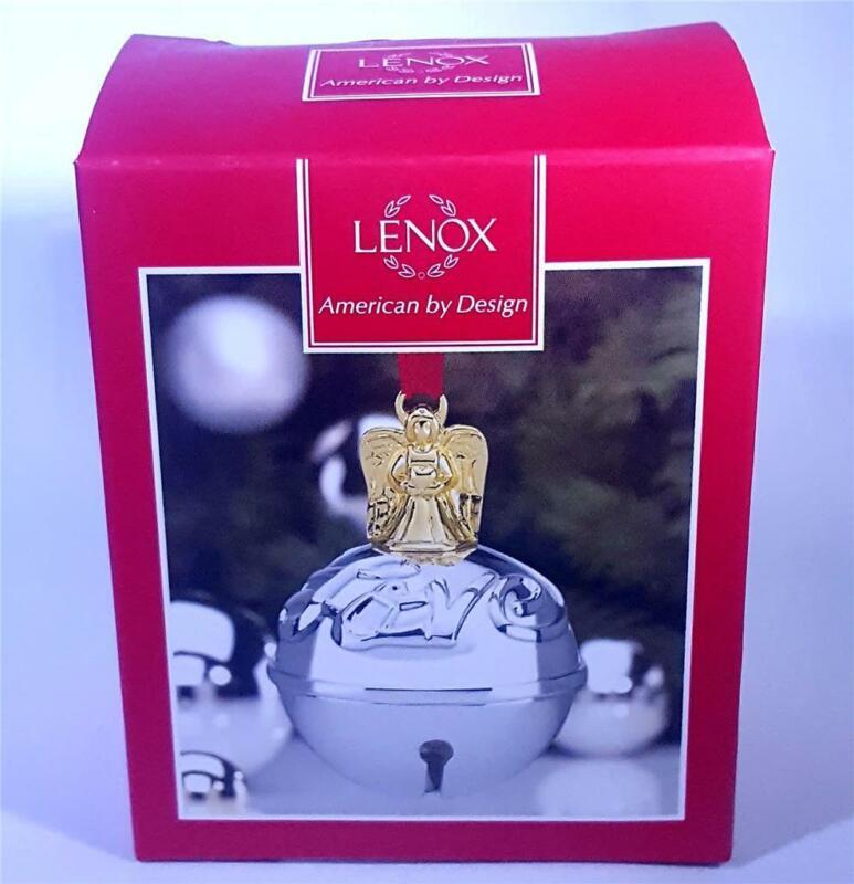 Lenox Just Jingles Angel Jingle bells Christmas Ornament New With Box