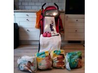 Mothercare Nanu Stroller, 3 - Position Carrier and much more baby stuff. I can drop off!