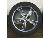 Wolfrace Alloy Wheels KBA 47894 fitted with used 245/45 ZR18 100Y tyres.