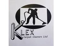Klex Carpet cleaners ltd special offers any 3 rooms for £100